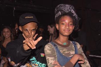 Jaden Smith Joins Willow For Surprise Performance As Their Parents Watch