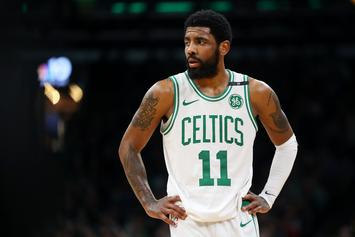 Kyrie Irving Spotted Working Out With New Nets Teammates