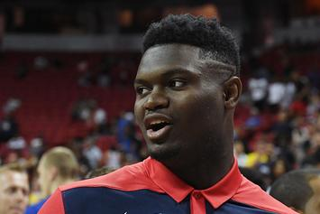 Zion Williamson, Panini Announce Exclusive Trading Card Deal: First Look