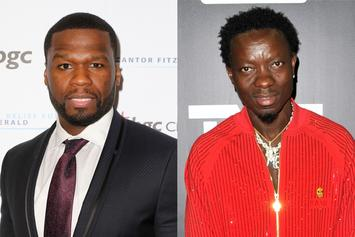 """Michael Blackson To 50 Cent After Debt Collection: """"You Ain't Sh*t Modaf*cka"""""""