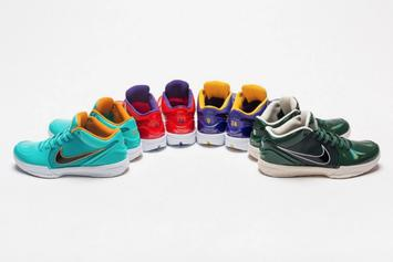 """Undefeated x Nike Kobe 4 Protro Collabs Releasing For """"Mamba Day"""""""