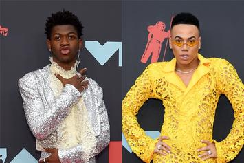 "Lil Nas X Looks Uncomfortable Chilling With Male ""L&HH"" Star Who Flirted With Him"