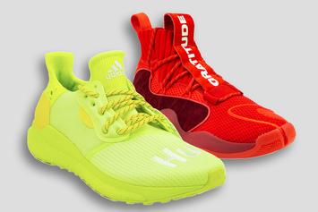 "Pharrell x Adidas x BBC Launch ""Now Is Her Time"" Unisex Sneaker Pack"