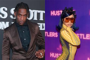 Travis Scott Shuts Down Rumour That He Has A Problem With Cardi B