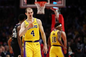 "Lakers' Alex Caruso ""Randomly"" Drug Tested After Weight Room Pics Surface"