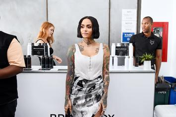 Kehlani's Baby Daddy Shuts Down Rumors He's Gay After YG Scoops Her Up