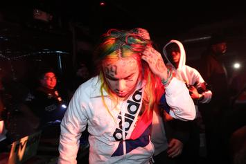 6ix9ine Admits To Long History Of Domestic Abuse Against His Baby Mama: Report