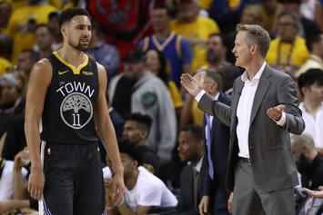 Steve Kerr Describes How Klay Thompson Injury Changes The Warriors