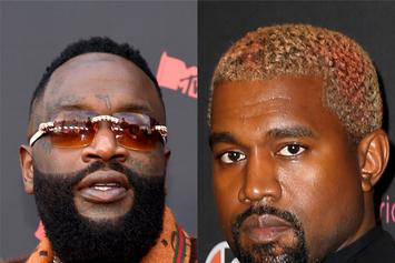 """Kanye West Made Rick Ross Rewrite """"Devil In A New Dress"""" Verse At The Last Minute"""