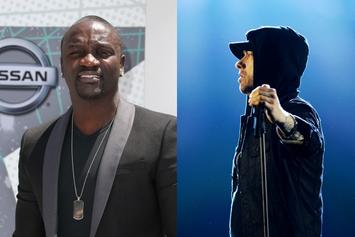 Akon Reflects On Eminem's Vigilant 9 To 5 Studio Work Ethic