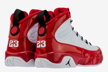 "Air Jordan 9 ""Gym Red"" Coming Soon: Release Details, Product Shots"