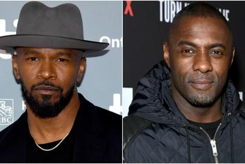 "Jamie Foxx Says He Talked Idris Elba Out Of Lead Role In ""Django Unchained"""