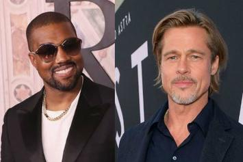 "Brad Pitt Praises Kanye West's Music: ""He Was One Of The First To Be Raw & Open"""