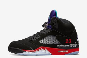 "Air Jordan 5 ""Top 3"" Combines Classic Colorways: What To Expect"