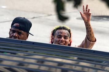 6ix9ine Will Need To Pay To Remove His Face Tattoos If Placed In Witness Protection