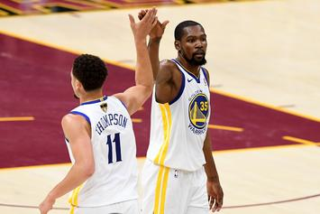 Klay Thompson Reveals How He Tried To Keep KD On The Warriors