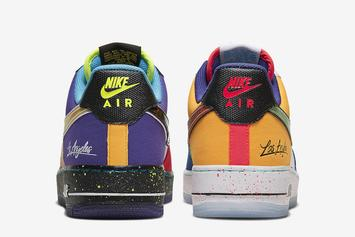 """Nike Air Force 1 Low """"What The LA"""" Officially Unveiled: Detailed Look"""