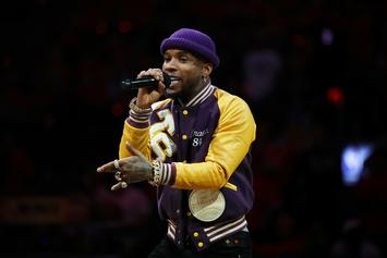 """Tory Lanez Shows Off His """"Wedding Cake"""" Ring & Other Blinding Jewelry"""