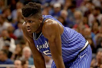 Mo Bamba Forced To Shave His Head After Losing Bet To Shaq