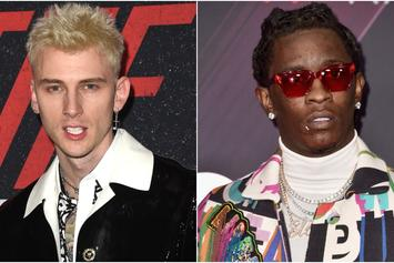 Justin Bieber Big Tour First Night: Young Thug Is Slightly Lit While MGK Is All The Way Turnt