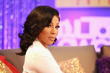 """K. Michelle Gets Laid Out For Talking Trash About Her """"LHHH"""" Co-Star"""