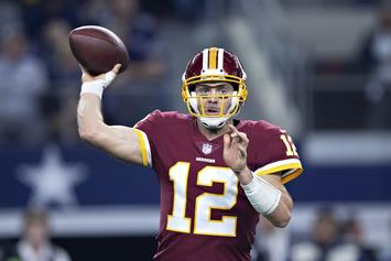 Washingon Redskins Officially Unveil QB Change Ahead Of Patriots Match