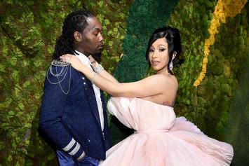 """Offset Gifts Cardi B With a """"Titanic Diamond"""" Ring For Her Birthday"""