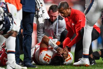 Patrick Mahomes' Knee Injury Leads To Meltdown Amongst Chiefs Fans