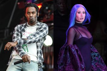 Playboi Carti & Iggy Azalea Hit Up Haunted House Together
