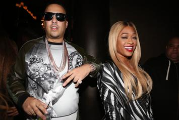 """Trina's Still """"Not Cool"""" With Ex French Montana"""