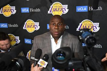Magic Johnson Explains How AD Could Have Saved His Lakers Job