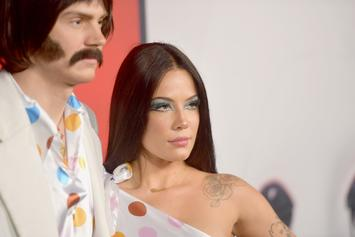 Halsey Finally Confirms She's Dating Evan Peters With Halloween Couple Costume