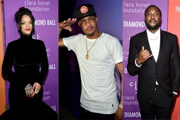 Rihanna, T.I. & Meek Mill Offer Help For Death Row Inmate Rodney Reed
