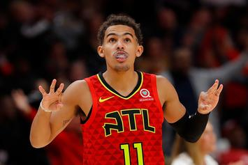 Trae Young Crosses Up LaMarcus Aldridge With Ease And NBA Twitter Erupts