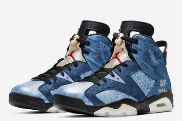 """Air Jordan 6 """"Washed Denim"""" Rumored For The Holidays: First Look"""