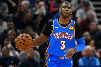 Chris Paul Tells Kevin Hart He Felt 'Stabbed In The Back' After OKC Trade: Watch