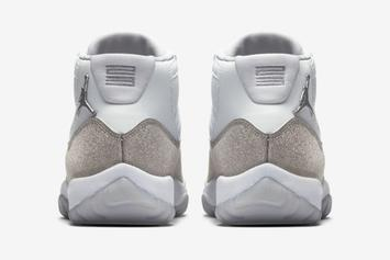 "Air Jordan 11 ""Metallic Silver"" Release Date Confirmed, Official Images Revealed"