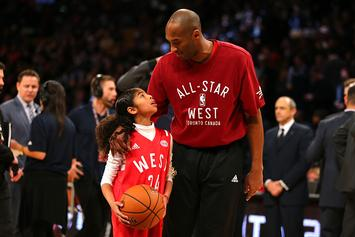 Kobe Bryant Shows Off His Daughter's Mamba-Like Fadeaway Jumper