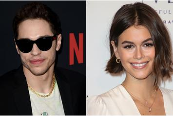 Pete Davidson & Kaia Gerber Confirm Relationship With Hand Holding Pic