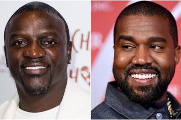 "Akon Says He Needs Kanye West To Run For President: He's ""Not Crazy"""