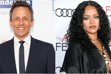 """Seth Meyers Shares The One Thing Rihanna Is """"Bad At"""""""