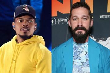"""Chance The Rapper Dubs Shia LaBeouf """"One Of The Best Freestylers Of All Time"""""""