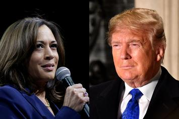 Kamala Harris Claps Back At Trump After Dropping Out Of 2020 Presidential Race