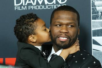 50 Cent's Son Proudly Shows Off His Missing Front Teeth In Adorable Photo