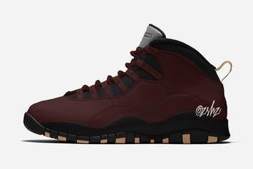 SoleFly x Air Jordan 10 Revealed At Dior Show: First Look