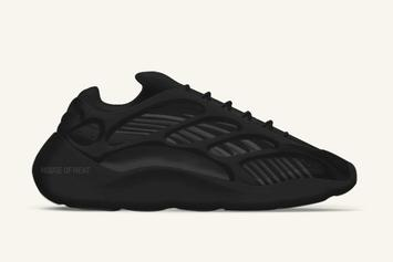 """Adidas Yeezy 700 V3 Surfaces In """"Triple Black"""" Colorway: First Look"""