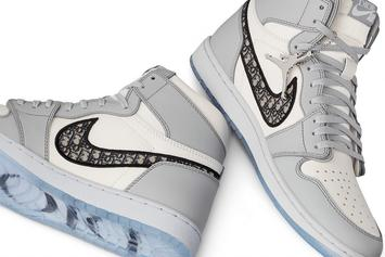 Dior x Air Jordan 1 High Collab: New Release Details Revealed