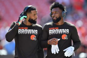 Jarvis Landry Comments On Odell Beckham Jr. Trade Rumors: Watch