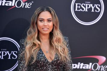 """Ayesha Curry Jokes About Size Of Her Baby Boy: """"We Birthed A Viking"""""""