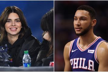 Kendall Jenner Spotted At 76ers Game Following Split From Ben Simmons